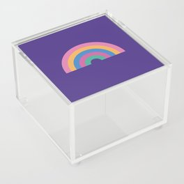 Rainbow Acrylic Box