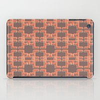 mid century modern iPad Cases featuring Vintage Abstract Mid Century Modern Pattern by Reflektion Design