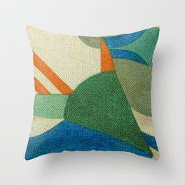 Caprichoso (Parintins - Brasil) Throw Pillow