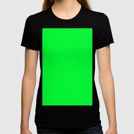 Australian Great Barrier Reef Neon Green Moray Eel Fish T-shirt