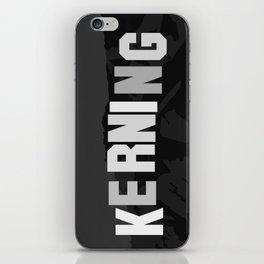 KERNING iPhone Skin