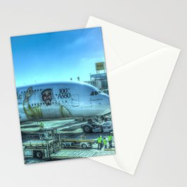 Emirates Airbus A380-800 Stationery Cards