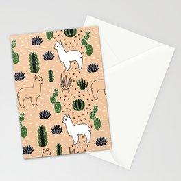Alpaca&cactus Stationery Cards