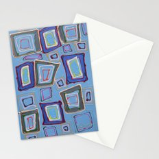 Newport Blue Stationery Cards