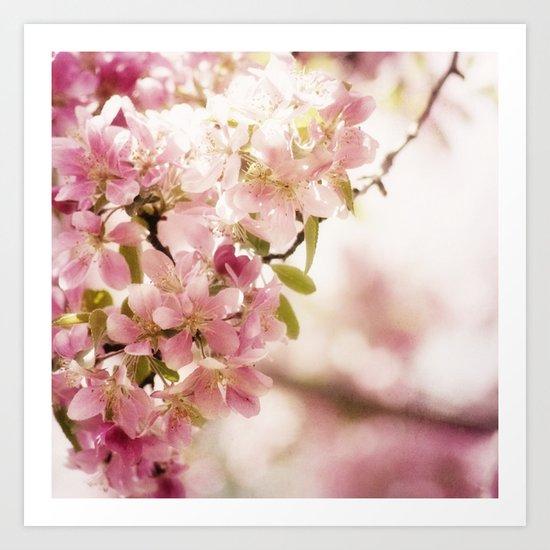 pink delight Art Print