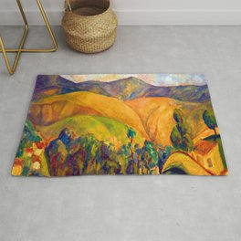 Diego Rivera Landscape Rug