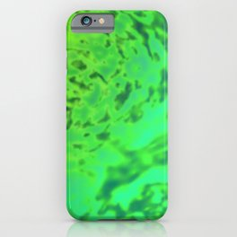 Harmless surface of the swamp ... iPhone Case