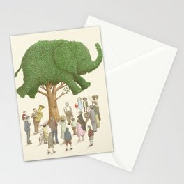 The Night Gardener - Elephant Tree Stationery Cards
