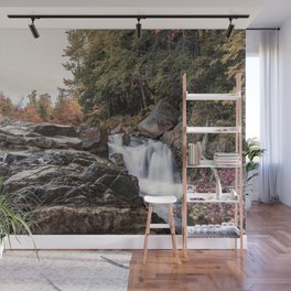 Waterfall at Rocky Gorge Wall Mural