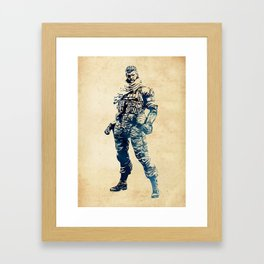 Venom Snake - Metal Gear Solid Framed Art Print