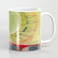 carnival Mugs featuring Carnival by angela deal meanix