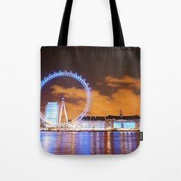 London Midnight Eye Tote Bag