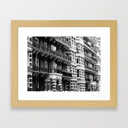 London 4 Framed Art Print