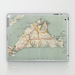 Vintage Map of Martha's Vineyard (1917) Laptop & iPad Skin