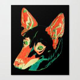 Husky German Shepherd Mix Canvas Print
