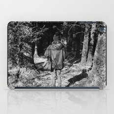 Girl in the Woods iPad Case