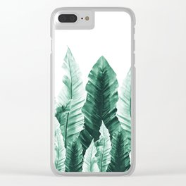 Underwater Leaves Vibes #2 #decor #art #society6 Clear iPhone Case