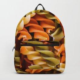 Pasta Noodles Pattern (Color) Backpack