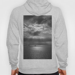 Cloudscape in black and white Hoody