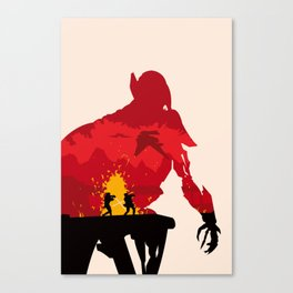 Revenge of the Sith Canvas Print