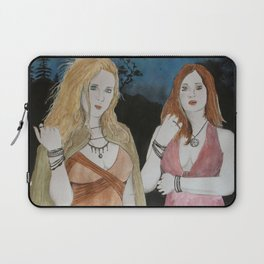 Velleda und Aurinia Laptop Sleeve