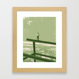 Trickle-down Economics Framed Art Print