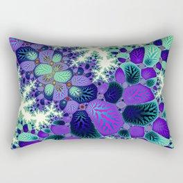 Leafy Nosegay Fractal Rectangular Pillow