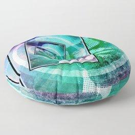 President Abraham Lincoln Pop Art Floor Pillow