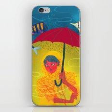 Umbrella in Paris iPhone & iPod Skin