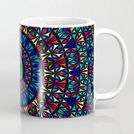 Colorful Church Window Mandala Coffee Mug