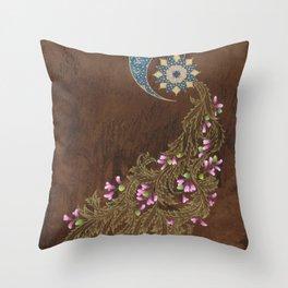 Cercis siliquastrum Throw Pillow