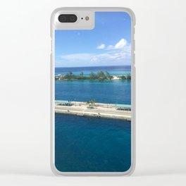Grand Turk Clear iPhone Case