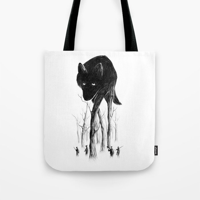 GOOD WOLF HUNTING Tote Bag