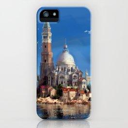 Hy-Brasil Island iPhone Case