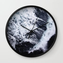 WILD OCEAN Wall Clock