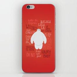 Hello, I'm Baymax iPhone Skin