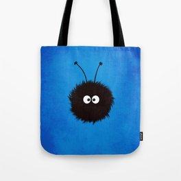 Blue Cute Dazzled Bug Tote Bag