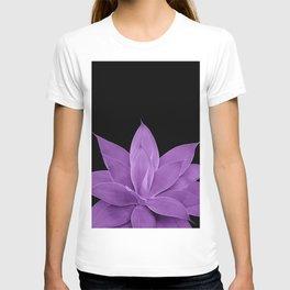 Purple Agave #1 #tropical #decor #art #society6 T-shirt