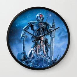 The Quantum Warrior Wall Clock