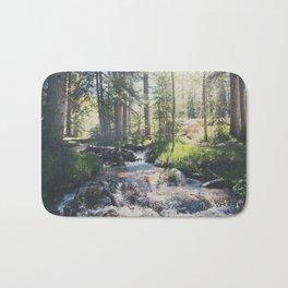 a mountain stream ... Bath Mat