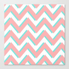 3D CHEVRON 3 Canvas Print