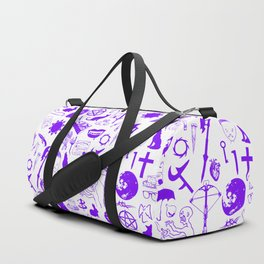Buffy Symbology, Purple Duffle Bag