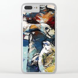 All that Fish can do Clear iPhone Case