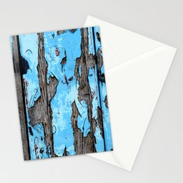 Weathered Blues Stationery Cards