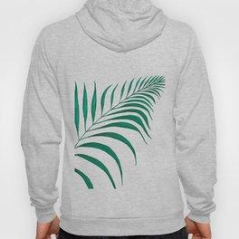 Tropical Palm Leaf #5   Watercolor Painting Hoody