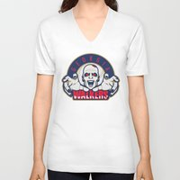 georgia V-neck T-shirts featuring Georgia Walkers by KVNCHRLZ