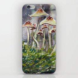 Mushrooms 3 iPhone Skin