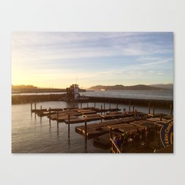 Bay times Canvas Print