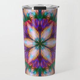 star seamless abstract colorful tile Travel Mug