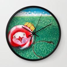 New Year Ball Wall Clock